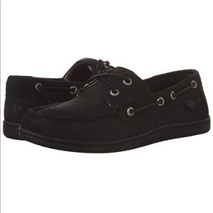 Black Sperry Koifish Boating Shoes With BOX!